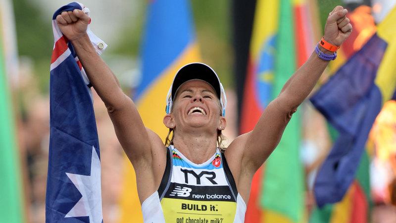 Mirinda Carfrae's race ended by husband's trip