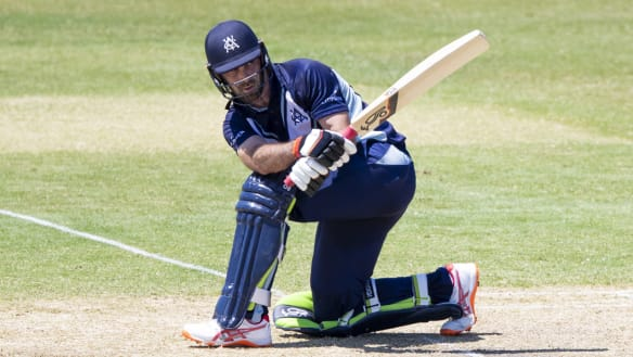 Maxwell shines for Vics as Test aspirants flex muscles