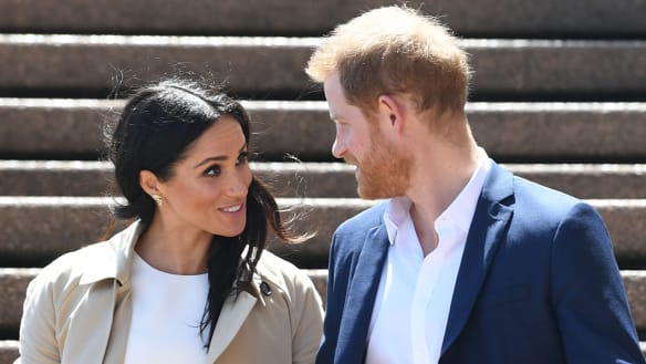 Harry and Meghan visit Dubbo on day two of Australian tour