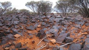 The site of the Australian Vanadium Gabanintha mine.
