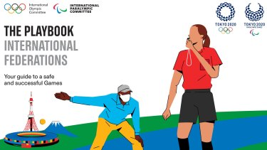 "Tokyo organisers and the International Olympic Committee (IOC) have released the first guidelines for the Games in a COVID ""playbook""."