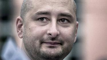 Arkady Babchenko was shot dead in Kiev on Tuesday.