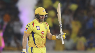 Watson top-scored for Chennai, but it wasn't quite enough.