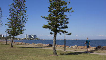 Redcliffe, north of Brisbane, is held by Labor's Yvette D'Ath.