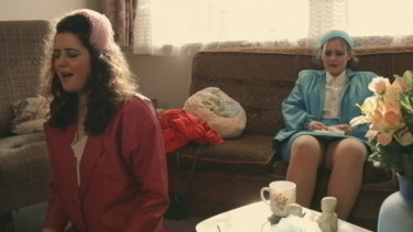 Scene from the film Births, Deaths and Marriages, Bea Joblin's debut indie from New Zealand.
