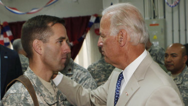 US Vice President Joe Biden met Harris through his son Beau Biden, a former Delaware attorney-general who passed away from brain cancer in 2015.