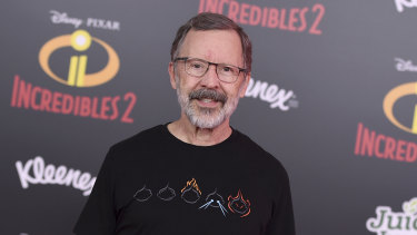 Edwin Catmull arrives at the world premiere of Incredibles 2 in Los Angeles in 2018.