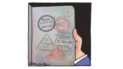 Stay home, anti-vaxxers: while we part-ay! Our COVID passports are coming