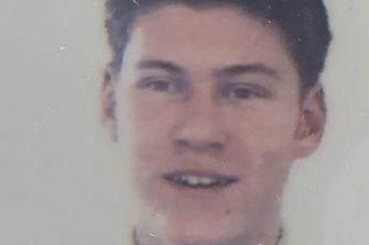 Holden aged 17.