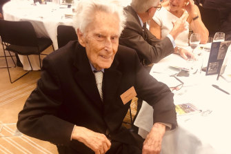 103 not out ... ATC member William Walker