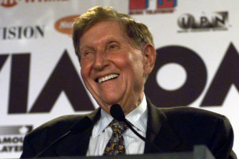 Sumner Redstone, pictured in 1999.