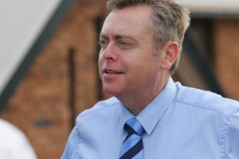 Planning minister Anthony Roberts said he wants to leave Sydney in a better state for his children.