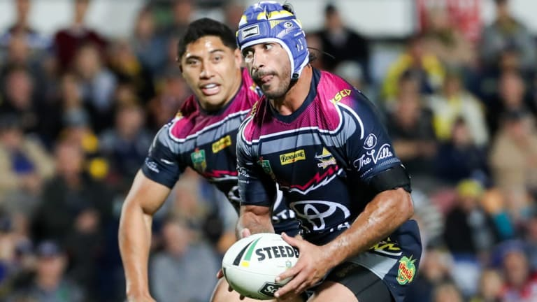 Cowboy Johnathan Thurston had the last laugh.