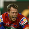 Former Storm prop Tim Glasby embraces spotlight in Newcastle