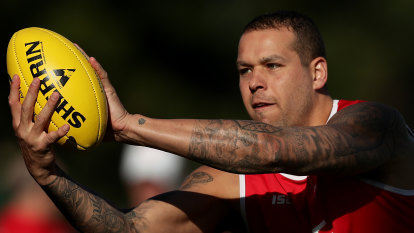 'He's still building': Swans confident 2020 won't be a wipeout for Franklin