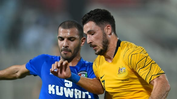 Bright start for Socceroos, but Arnold says there's more work to do