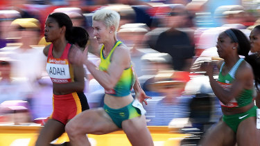 Melissa Breen finished fourth in her 100 metres heat at the Commonwealth Games.