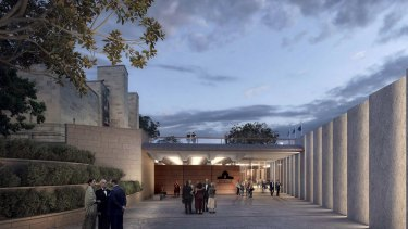 A parliamentary committee has approved the redevelopment of the Australian War Memorial.