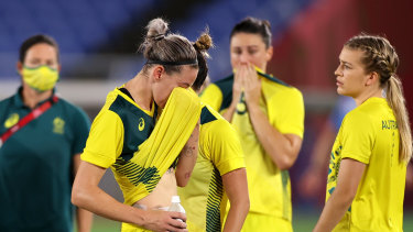 The bitterness of defeat is being used as motivation by the Matildas.
