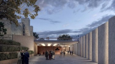 Architects have criticised a planned redevelopment of the Australian War Memorial.