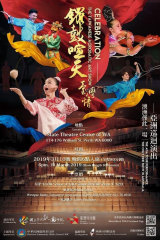 An advertisement for theTaiwan Acrobatic Troupe, which performed at WA's State Theatre Centre in March 2019.
