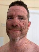 Innes Larkin after fighting the bushfires in November 2019