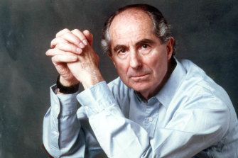 Philip Roth, the author of the much debated <i>Portnoy's Complaint.