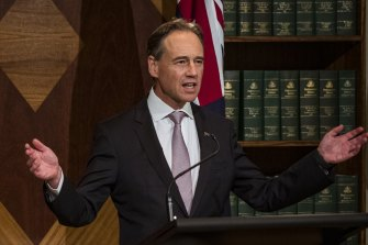 Greg Hunt says the federal government hopes to have 2 million Pfizer doses available per week by October.