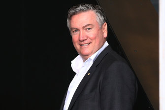 Eddie McGuire will step down as Collingwood club president next year.