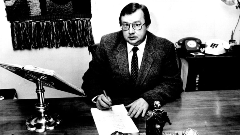 Harold Mitchell in 1983.