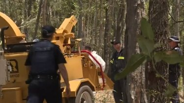 A man has died in what police have described as 'a tragic accident' near Gympie on Sunday.