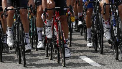 Belgian cyclist Lambrecht dies after crash