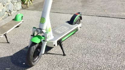 Lime back on Brisbane streets with scooters spreading to the suburbs