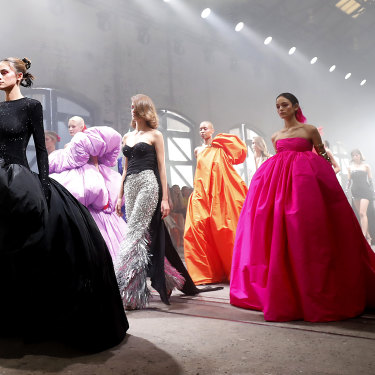 Yousef Akbar's fashion-as-fantasy aesthetic was clear at his Afterpay Australian Fashion Week show in June.