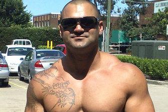 A steroid-pumped Hakan Ayik as he was a decade ago.