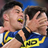 Eels secure finals place with a win that all but ends Knights' season