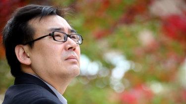 Captured Chinese-Australian writer Yang Hengjun.
