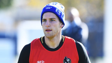 Brayden Sier will likely find it harder to work his way back into the Magpies' senior side this year.