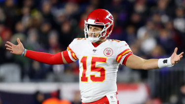 Patrick Mahomes' Chiefs got the win against the Patriots at Gilette Stadium.