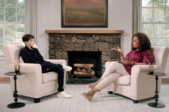 "Elliot Page was interviewed by Oprah Winfrey for an episode of ""The Oprah Conversation""."