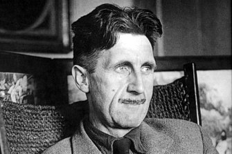 """Orwellian"" is probably the most widely used adjective derived from the name of a writer. Pictured is George Orwell."