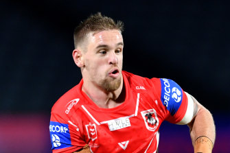 Matt Dufty is back in the No. 1 for St George Illawarra.