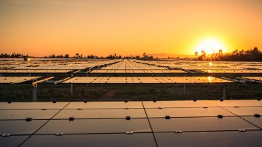 Genex Power's Kidston pumped hydro and solar plant in Queensland is part of a surge in that state's renewable energy.