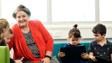 QUT professor Susan Danby, who will lead a new Centre of Excellence into the effects of digital technology on the lives of Australian children.
