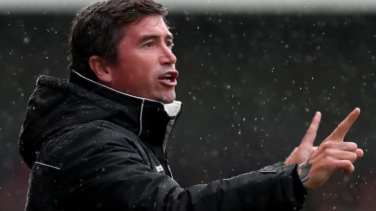 Harry Kewell has been let go just months after signing on as manager of Notts County.