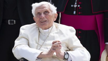 'An old man of 93': Vatican denies Benedict XVI is seriously ill