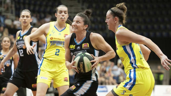 Kelsey Griffin played a starring role against Bendigo.