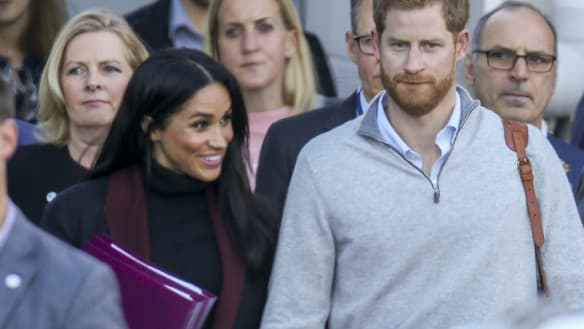 Prince Harry and Meghan Markle announce first pregnancy