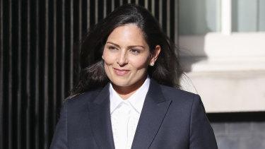 Priti Patel, the new Home Secretary.