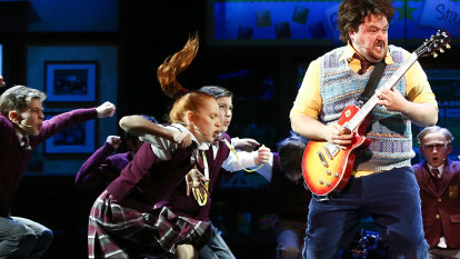 School of Rock review: Rocking made harder when songs turn to powder